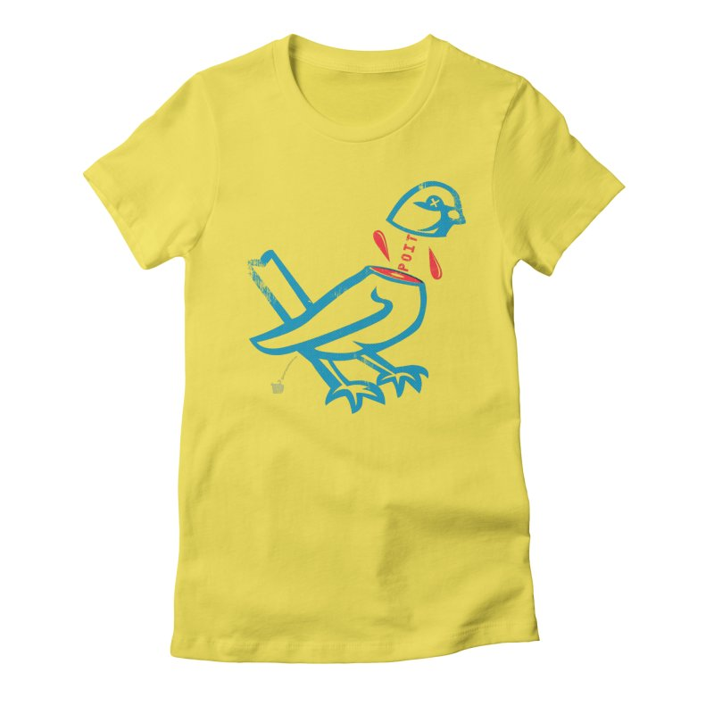 BlüBürd of HaPPynez Women's T-Shirt by shu SHOP