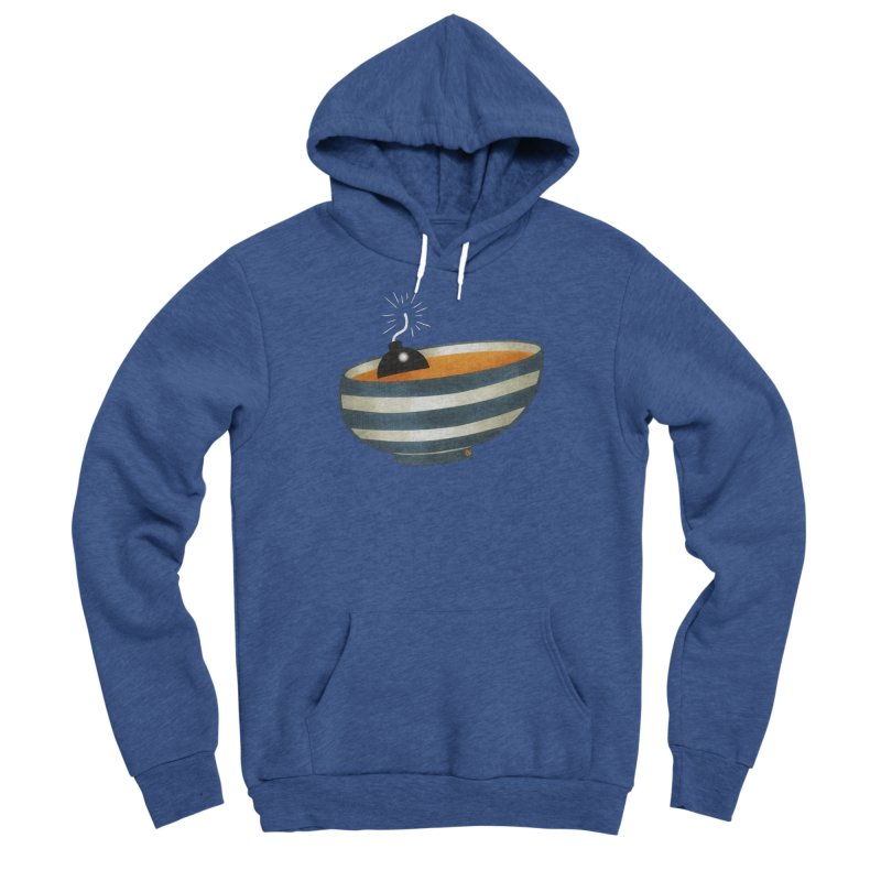 Soup Bomb! Women's Sponge Fleece Pullover Hoody by Slap Happy Ultd Emporium
