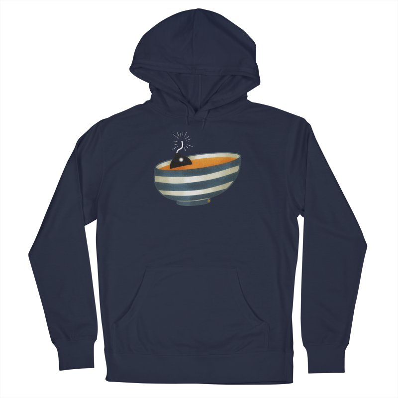 Soup Bomb! Women's French Terry Pullover Hoody by Slap Happy Ultd Emporium