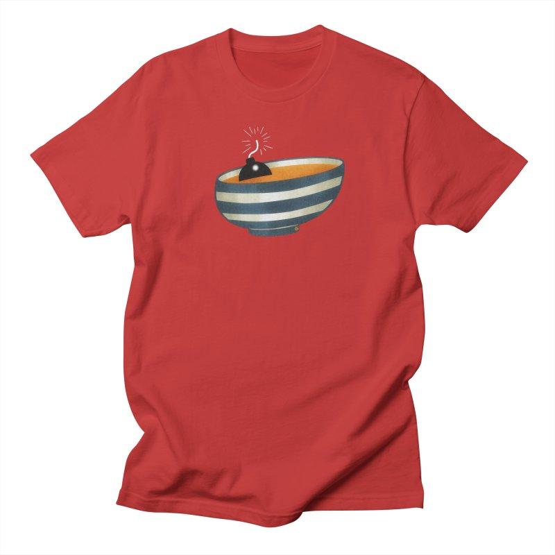 Soup Bomb! Men's Regular T-Shirt by Slap Happy Ultd Emporium