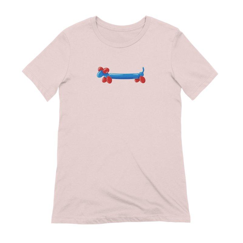 WeeeeeeeeeeNER Women's Extra Soft T-Shirt by Slap Happy Ultd Emporium