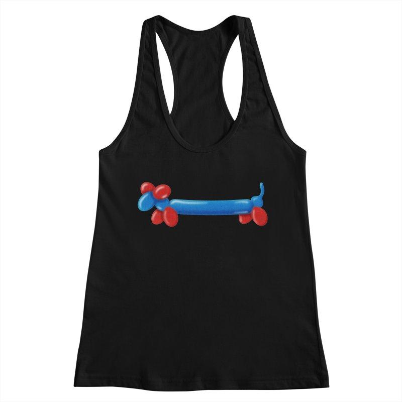 WeeeeeeeeeeNER Women's Racerback Tank by Slap Happy Ultd Emporium