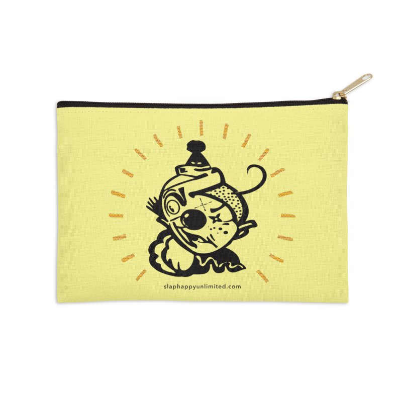 Slap Happy Ultd Logo Accessories Zip Pouch by Slap Happy Ultd Emporium