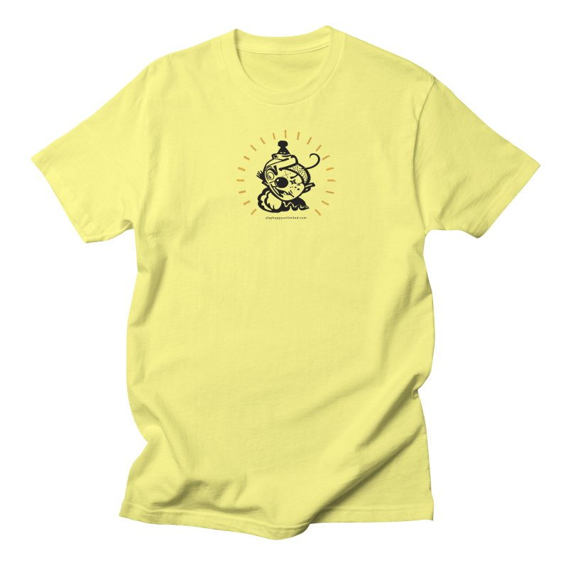 Slap Happy Ultd Logo in Men's Regular T-Shirt Lemon by Slap Happy Ultd Emporium