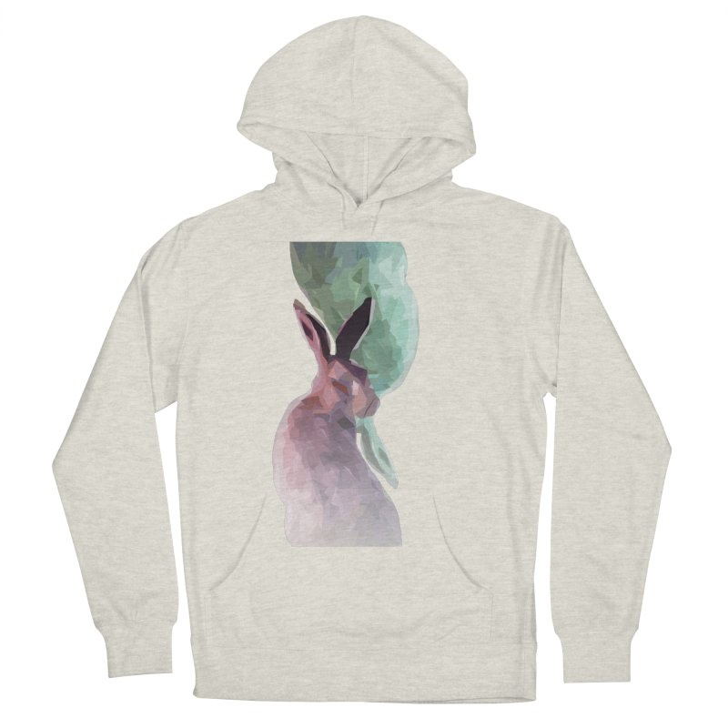 Rabbitious Women's French Terry Pullover Hoody by Slash Shay