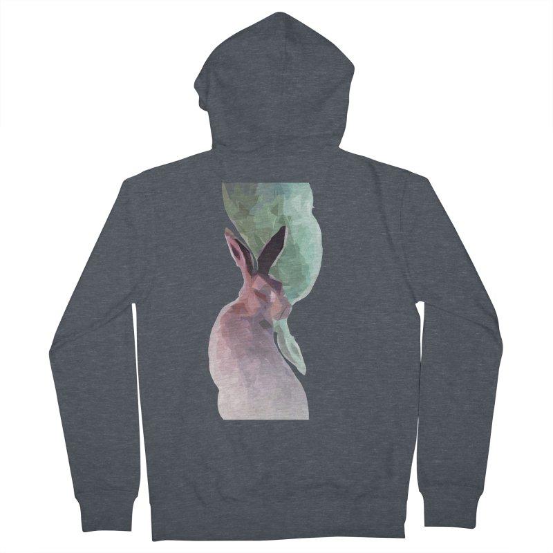 Rabbitious Women's Zip-Up Hoody by Slash Shay