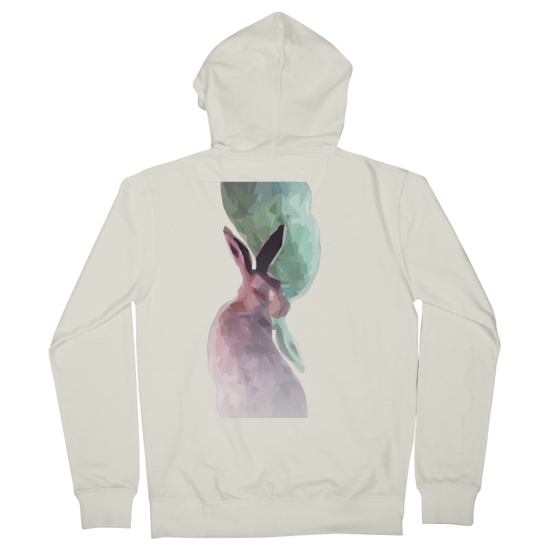 Rabbitious Men's Zip-Up Hoody by Slash Shay