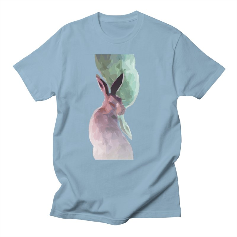 Rabbitious Men's Regular T-Shirt by Slash Shay