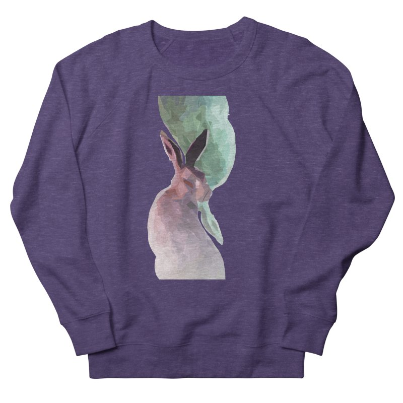 Rabbitious Women's French Terry Sweatshirt by Slash Shay
