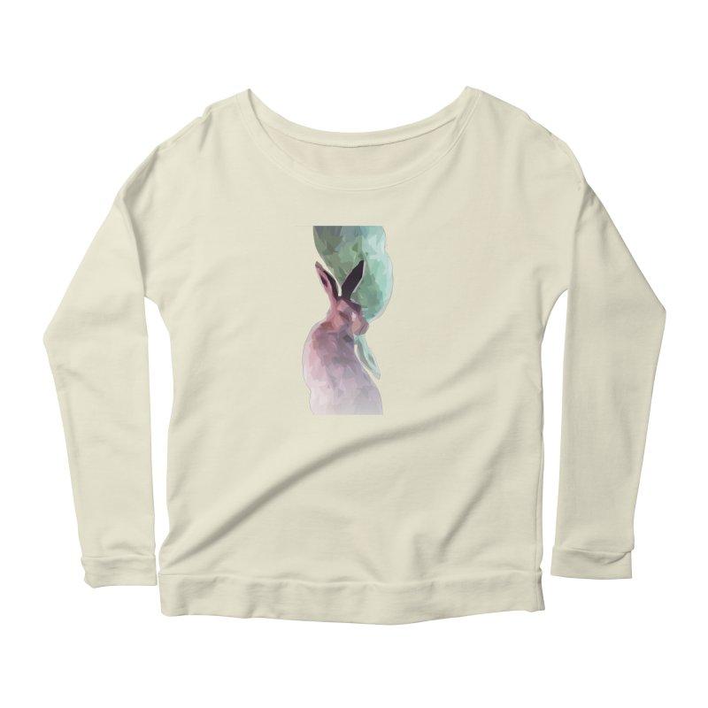 Rabbitious Women's Longsleeve T-Shirt by Slash Shay