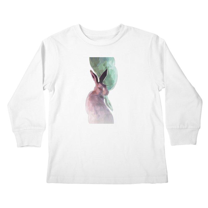 Rabbitious Kids Longsleeve T-Shirt by Slash Shay