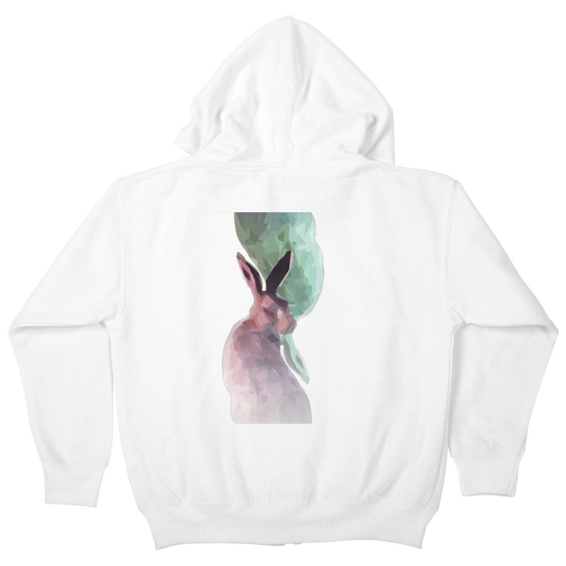 Rabbitious Kids Zip-Up Hoody by Slash Shay