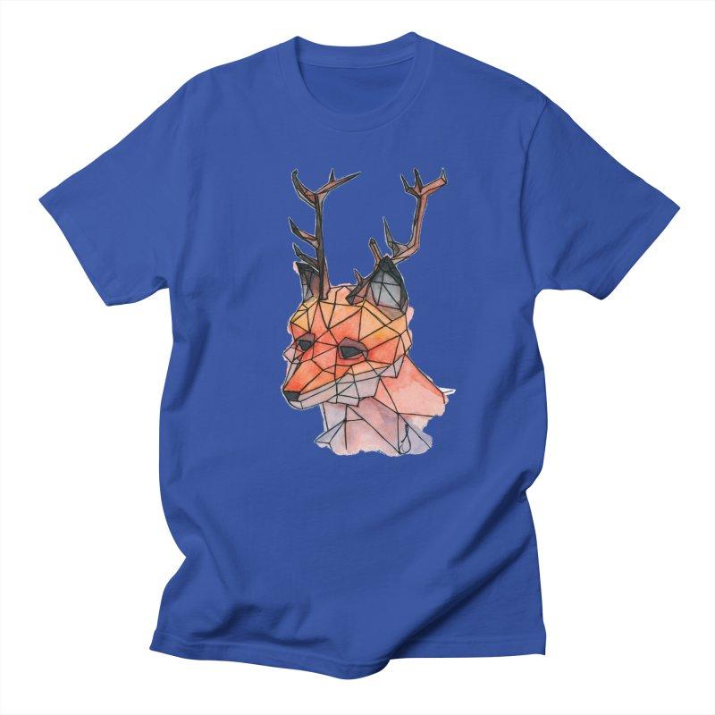 Foxalope Men's T-Shirt by Slash Shay