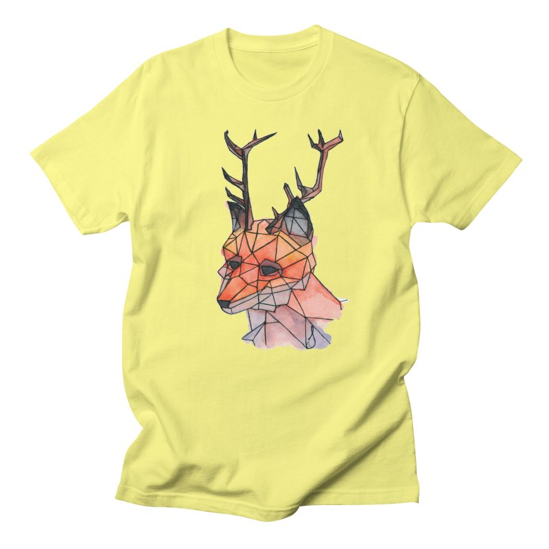 Foxalope Men's T-Shirt by Slash Shay