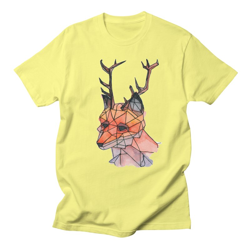 Foxalope Men's Regular T-Shirt by Slash Shay