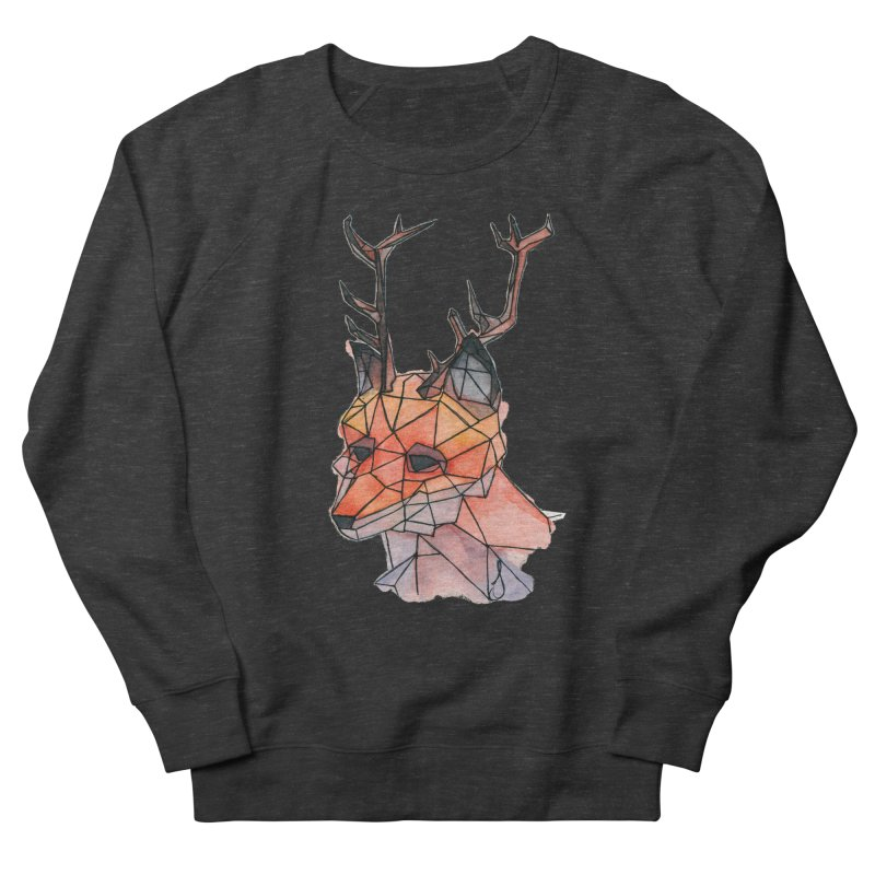 Foxalope Women's French Terry Sweatshirt by Slash Shay