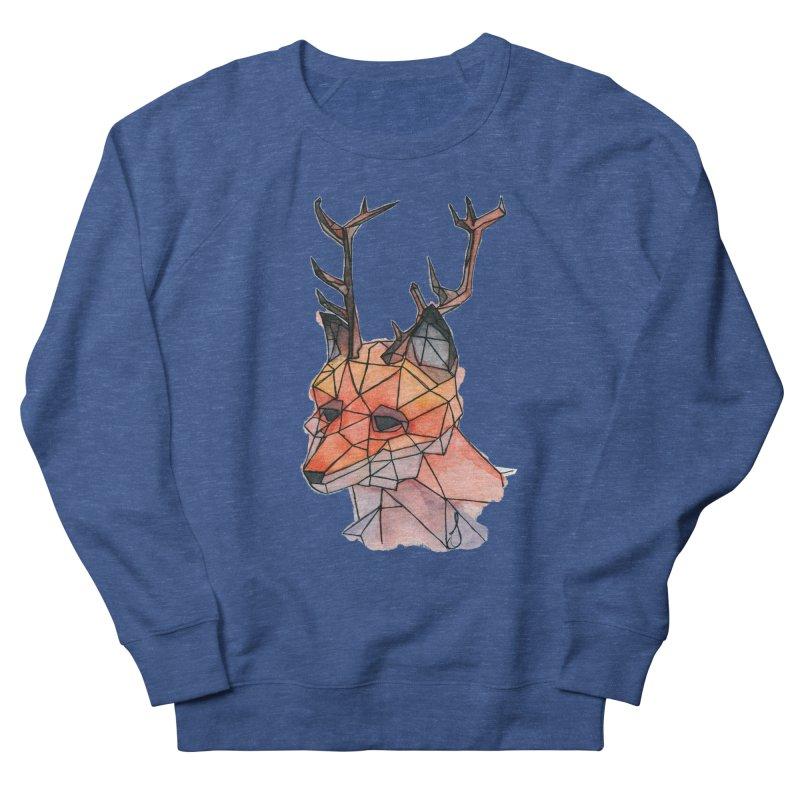Foxalope Women's French Terry Sweatshirt by Slash Shay