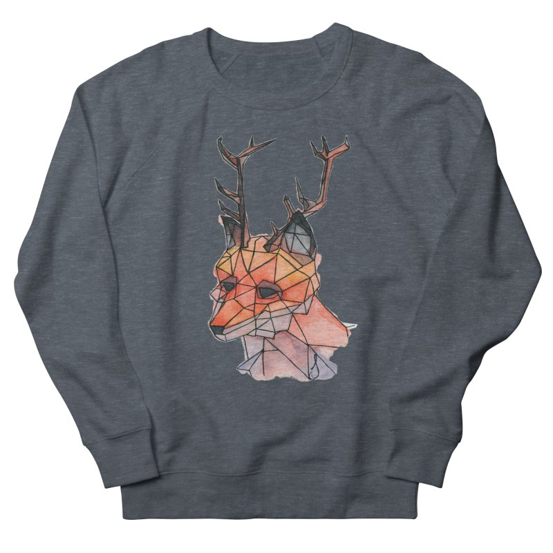 Foxalope Men's Sweatshirt by Slash Shay