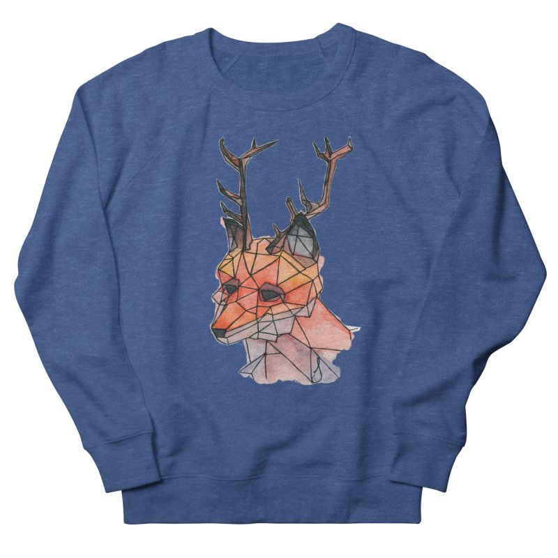 Foxalope Men's French Terry Sweatshirt by Slash Shay