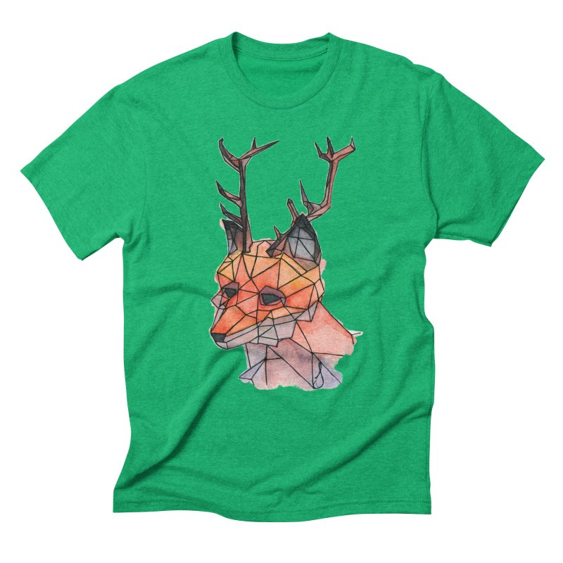 Foxalope Men's Triblend T-Shirt by Slash Shay
