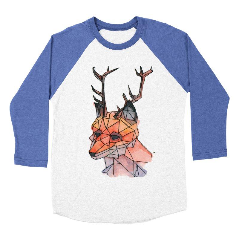 Foxalope Women's Baseball Triblend Longsleeve T-Shirt by Slash Shay