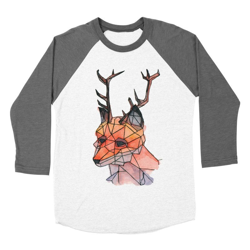 Foxalope Men's Baseball Triblend Longsleeve T-Shirt by Slash Shay