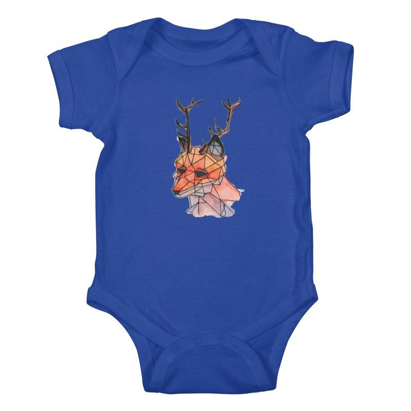 Foxalope Kids Baby Bodysuit by Slash Shay