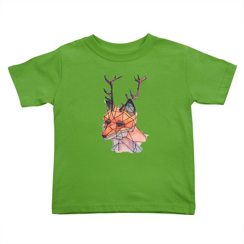 Foxalope Kids Toddler T-Shirt by Slash Shay