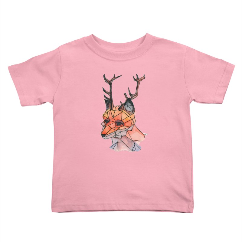 Foxalope Kids Toddler T-Shirt by Slash Shay