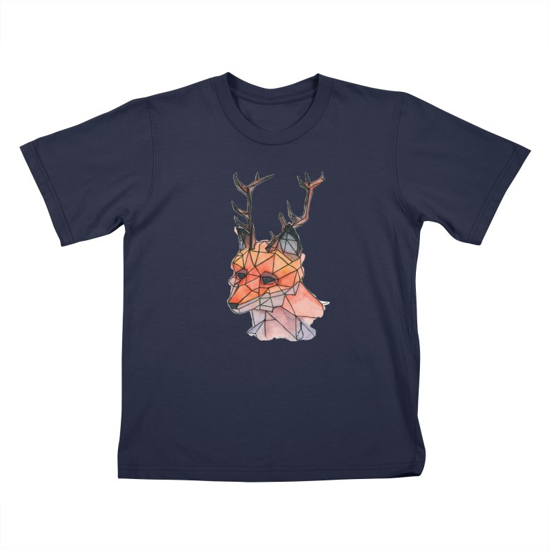 Foxalope Kids T-Shirt by Slash Shay