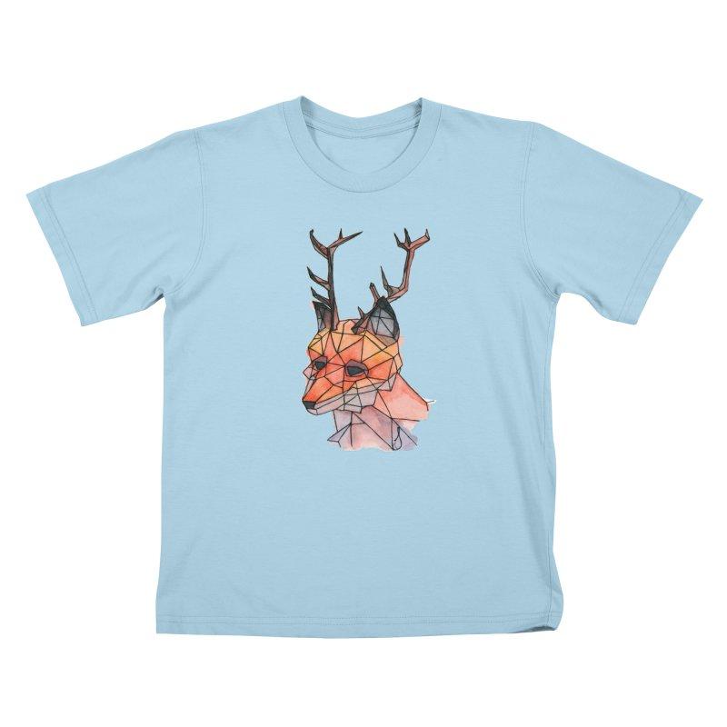 Foxalope Kids T-Shirt by Slash Shay