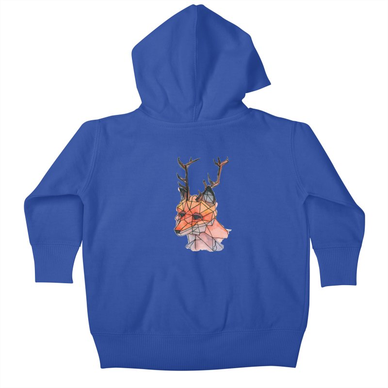 Foxalope Kids Baby Zip-Up Hoody by Slash Shay