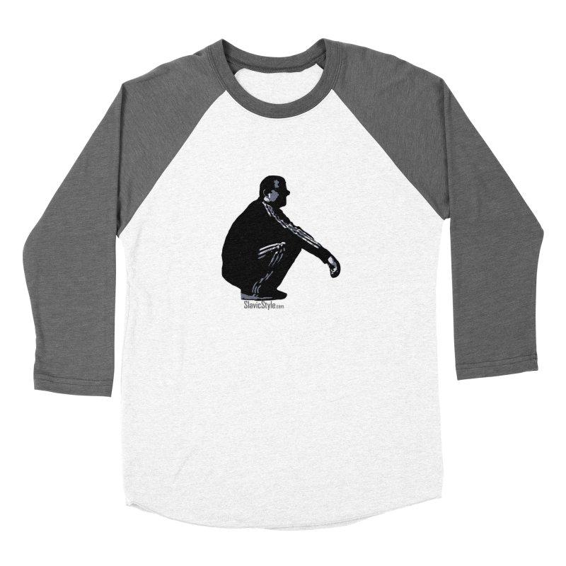 The Slavic Squat (with logo) Women's Longsleeve T-Shirt by SlavicStyle