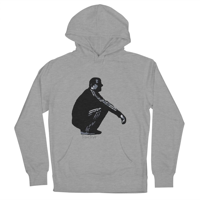 The Slavic Squat (with logo) Women's Pullover Hoody by SlavicStyle