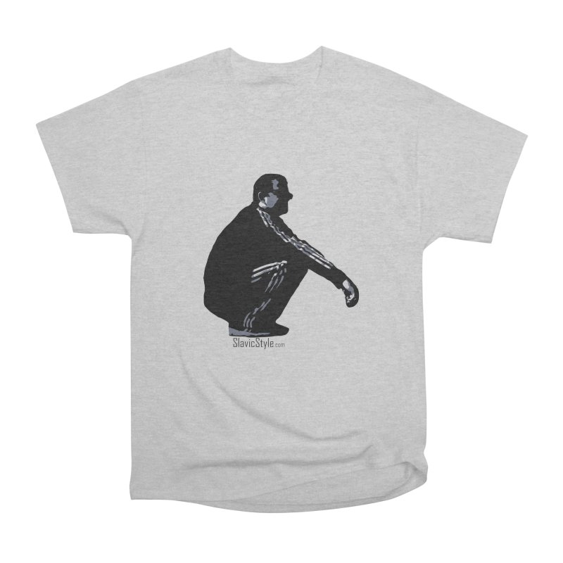 The Slavic Squat (with logo) Men's Classic T-Shirt by SlavicStyle