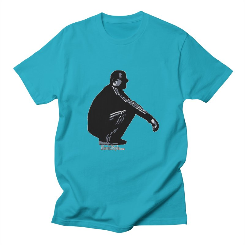The Slavic Squat (with logo) Women's Regular Unisex T-Shirt by SlavicStyle