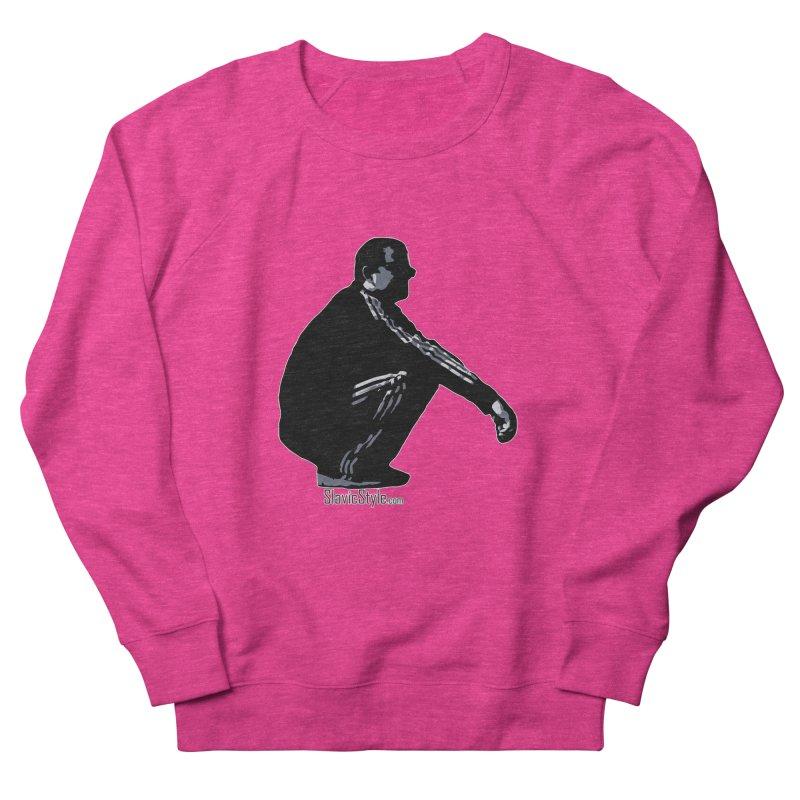 The Slavic Squat (with logo) Women's Sweatshirt by SlavicStyle