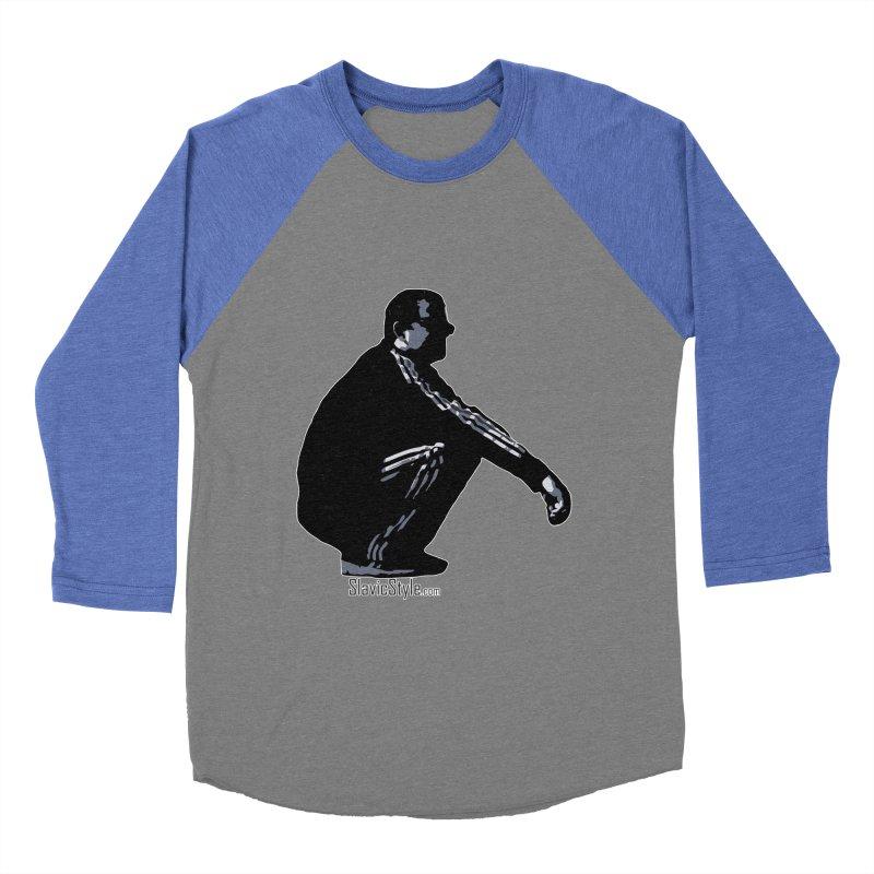 The Slavic Squat (with logo) Women's Baseball Triblend T-Shirt by SlavicStyle