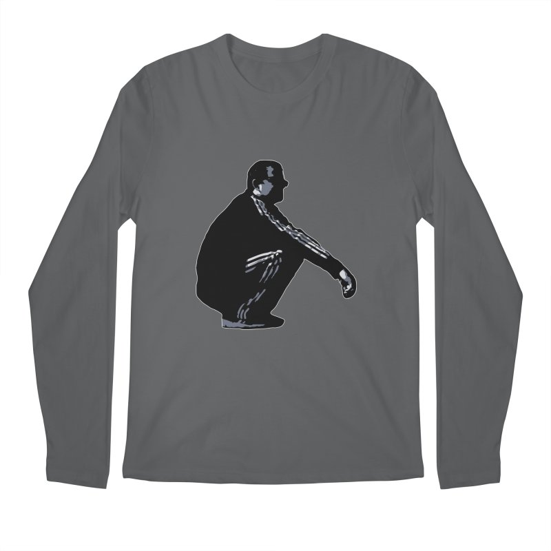 The Slavic Squat (without logo) Men's Longsleeve T-Shirt by SlavicStyle