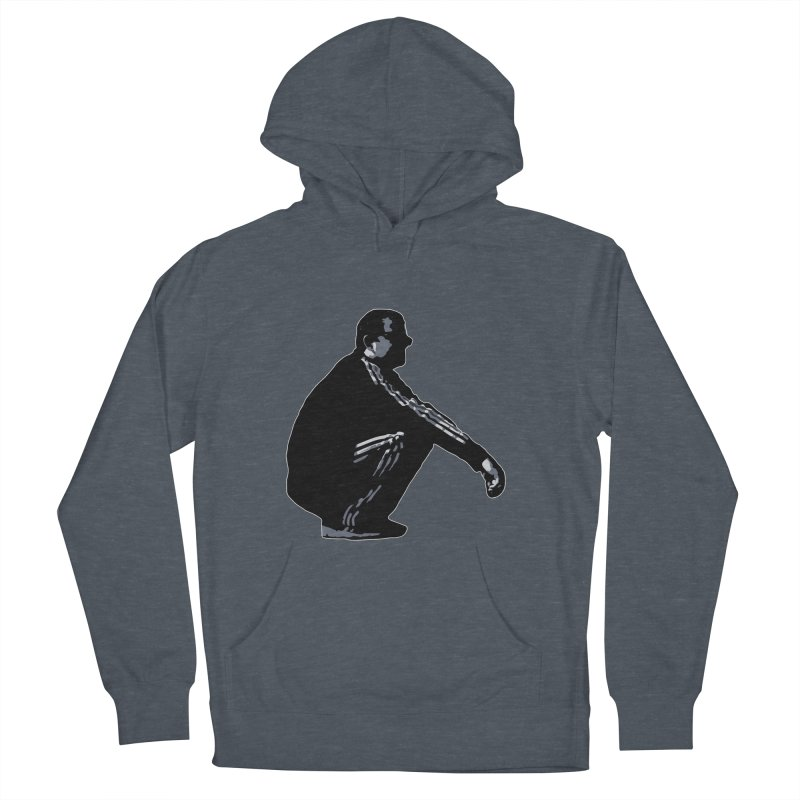 The Slavic Squat (without logo) Men's French Terry Pullover Hoody by SlavicStyle