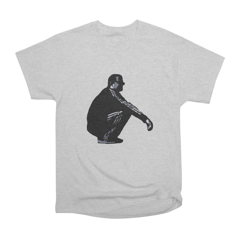 The Slavic Squat (without logo) Men's Heavyweight T-Shirt by SlavicStyle