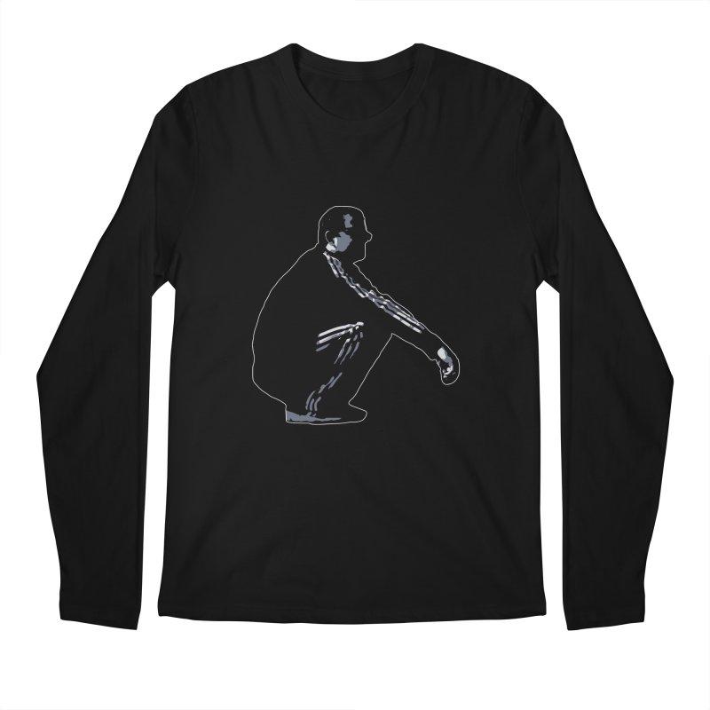 The Slavic Squat (without logo) Men's Longsleeve T-Shirt by SlavicStyle
