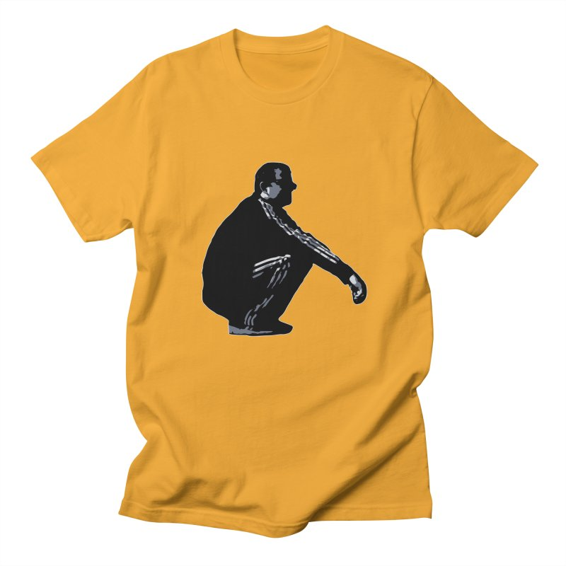 The Slavic Squat (without logo) Men's Regular T-Shirt by SlavicStyle