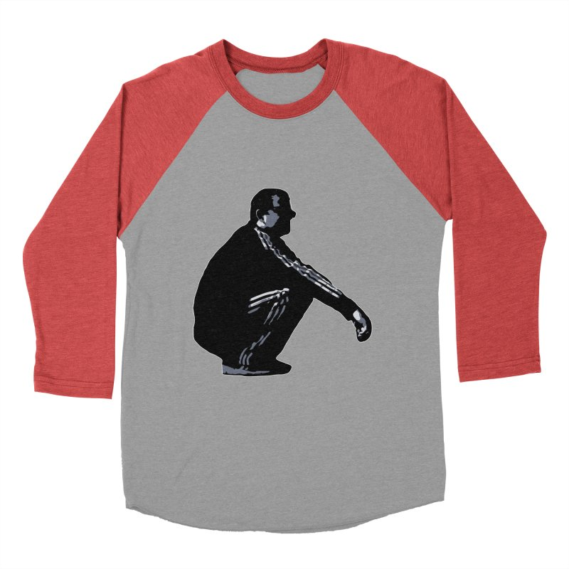 The Slavic Squat (without logo) Men's Baseball Triblend T-Shirt by SlavicStyle