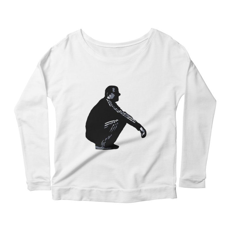 The Slavic Squat (without logo) Women's Scoop Neck Longsleeve T-Shirt by SlavicStyle