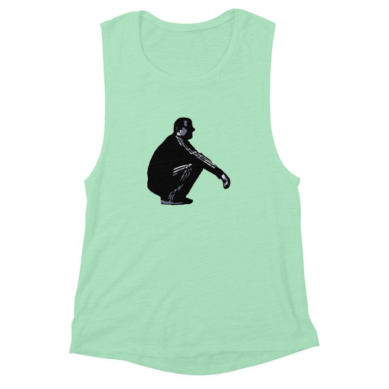 The Slavic Squat (without logo) Women's Muscle Tank by SlavicStyle