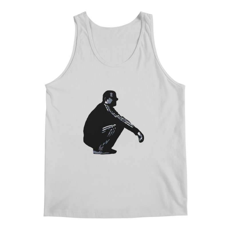 The Slavic Squat (without logo) Men's Regular Tank by SlavicStyle