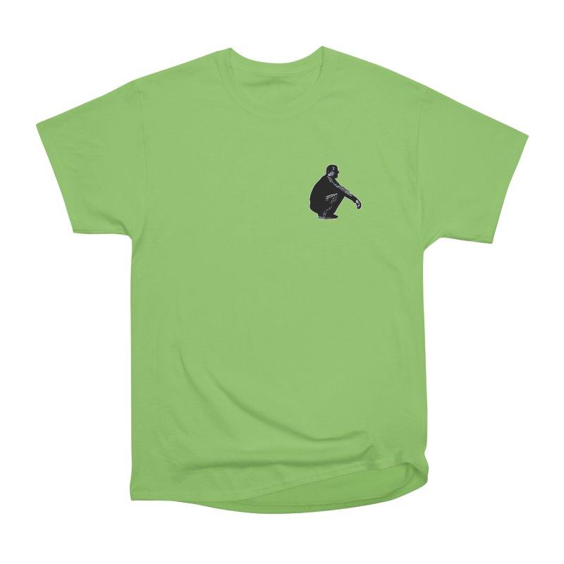 The Slavic Squat - Pocket Slav (without logo) Women's Heavyweight Unisex T-Shirt by SlavicStyle
