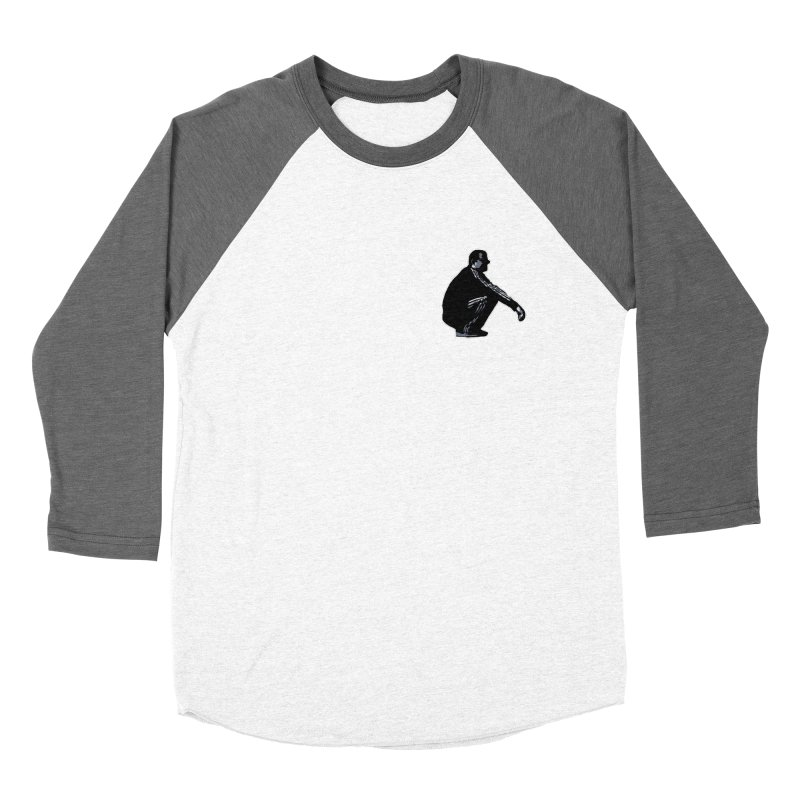 The Slavic Squat - Pocket Slav (without logo) Men's Baseball Triblend T-Shirt by SlavicStyle