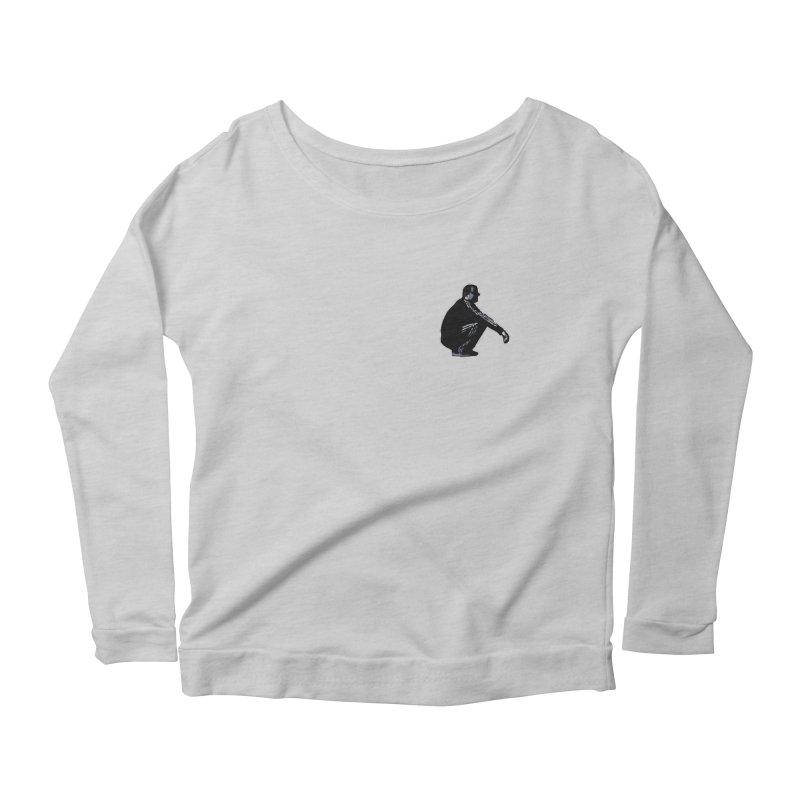 The Slavic Squat - Pocket Slav (without logo) Women's Scoop Neck Longsleeve T-Shirt by SlavicStyle